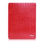 Чехол TS-Case Crocodile Grain Case для Apple iPad 2/New iPad (красный, кожа крокодила)