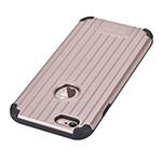 Чехол Devia Suitcase case для Apple iPhone 6S (розово-золотистый, пластиковый)
