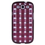Чехол X-doria Engage Form case для Samsung Galaxy S3 i9300 (фиолетовый, пластиковый)