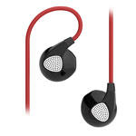 Наушники Devia Ripple D2 In-Ear Headphones (красные, пульт/микрофон, 20-20000 Гц)