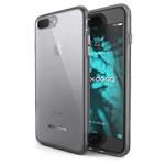 Чехол X-doria ClearVue для Apple iPhone 7 plus (серый, пластиковый)
