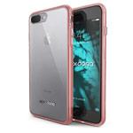 Чехол X-doria ClearVue для Apple iPhone 7 plus (розовый, пластиковый)