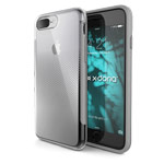 Чехол X-doria Revel Case для Apple iPhone 7 plus (Chrome Silver, пластиковый)