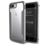 Чехол X-doria Defense Shield для Apple iPhone 7 plus (серебристый, маталлический)