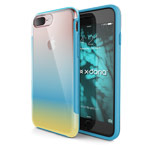 Чехол X-doria Revel Case для Apple iPhone 7 plus (Gradient Blue, пластиковый)