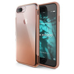 Чехол X-doria Revel Case для Apple iPhone 7 plus (Chrome Rose Gold, пластиковый)