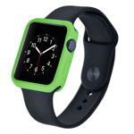 Чехол Devia Colorful case для Apple Watch 38 мм (зеленый, гелевый)