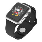 Чехол Devia Colorful case для Apple Watch 38 мм (прозрачный, гелевый)