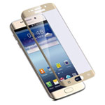 Защитная пленка Yotrix 3D Glass Protector для Samsung Galaxy S7 edge (стеклянная, золотистая)