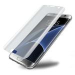 Защитная пленка Yotrix 3D Glass Protector для Samsung Galaxy S7 edge (стеклянная, прозрачная)