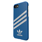 Чехол Adidas Moulded Case для Apple iPhone 7 (синий, кожаный)