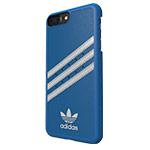 Чехол Adidas Moulded Case для Apple iPhone 7 plus (синий, кожаный)