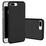Чехол Nillkin Synthetic fiber для Apple iPhone 7 plus (черный, карбон)