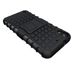 Чехол Yotrix Shockproof case для HTC Desire 630/530 (черный, пластиковый)