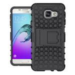 Чехол Yotrix Shockproof case для Samsung Galaxy A3 2016 A310 (черный, пластиковый)