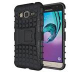 Чехол Yotrix Shockproof case для Samsung Galaxy J3 2016 J320 (черный, пластиковый)