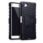 Чехол Yotrix Shockproof case для Sony Xperia Z5 compact (черный, пластиковый)