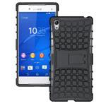 Чехол Yotrix Shockproof case для Sony Xperia Z5 premium (черный, пластиковый)