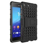 Чехол Yotrix Shockproof case для Sony Xperia M5 (черный, пластиковый)