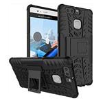 Чехол Yotrix Shockproof case для Huawei P9 (черный, пластиковый)