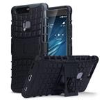 Чехол Yotrix Shockproof case для Huawei P9 plus (черный, пластиковый)