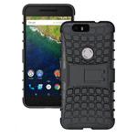 Чехол Yotrix Shockproof case для Huawei Nexus 6P (черный, пластиковый)