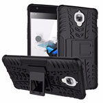 Чехол Yotrix Shockproof case для OnePlus 3 (черный, пластиковый)