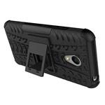 Чехол Yotrix Shockproof case для Meizu M3 (черный, пластиковый)