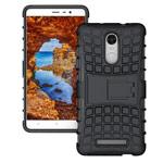 Чехол Yotrix Shockproof case для Xiaomi Redmi Note 3 (черный, пластиковый)