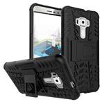 Чехол Yotrix Shockproof case для Asus Zenfone 3 ZE552KL (черный, пластиковый)