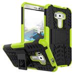 Чехол Yotrix Shockproof case для Asus Zenfone 3 ZE552KL (зеленый, пластиковый)