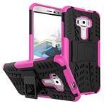 Чехол Yotrix Shockproof case для Asus Zenfone 3 ZE552KL (розовый, пластиковый)