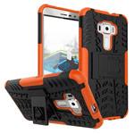Чехол Yotrix Shockproof case для Asus Zenfone 3 ZE552KL (оранжевый, пластиковый)