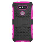 Чехол Yotrix Shockproof case для LG G5 (розовый, пластиковый)
