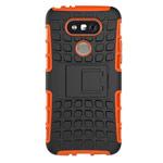 Чехол Yotrix Shockproof case для LG G5 (оранжевый, пластиковый)