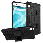 Чехол Yotrix Shockproof case для Sony Xperia XA (черный, пластиковый)