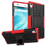 Чехол Yotrix Shockproof case для Sony Xperia XA (красный, пластиковый)