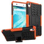 Чехол Yotrix Shockproof case для Sony Xperia XA (оранжевый, пластиковый)