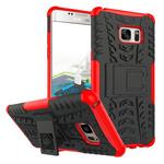 Чехол Yotrix Shockproof case для Samsung Galaxy Note 7 (красный, пластиковый)