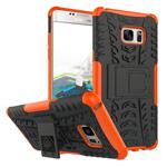Чехол Yotrix Shockproof case для Samsung Galaxy Note 7 (оранжевый, пластиковый)