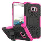Чехол Yotrix Shockproof case для Samsung Galaxy Note 7 (розовый, пластиковый)