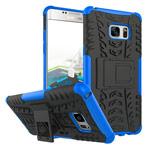 Чехол Yotrix Shockproof case для Samsung Galaxy Note 7 (синий, пластиковый)