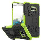 Чехол Yotrix Shockproof case для Samsung Galaxy Note 7 (зеленый, пластиковый)