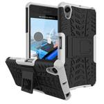 Чехол Yotrix Shockproof case для Sony Xperia X Performance (белый, пластиковый)