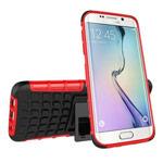 Чехол Yotrix Shockproof case для Samsung Galaxy S7 edge (красный, пластиковый)