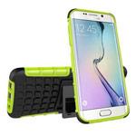 Чехол Yotrix Shockproof case для Samsung Galaxy S7 edge (зеленый, пластиковый)