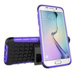Чехол Yotrix Shockproof case для Samsung Galaxy S7 edge (фиолетовый, пластиковый)