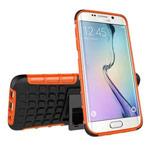 Чехол Yotrix Shockproof case для Samsung Galaxy S7 edge (оранжевый, пластиковый)