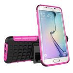 Чехол Yotrix Shockproof case для Samsung Galaxy S7 edge (розовый, пластиковый)