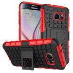 Чехол Yotrix Shockproof case для Samsung Galaxy S7 (красный, пластиковый)